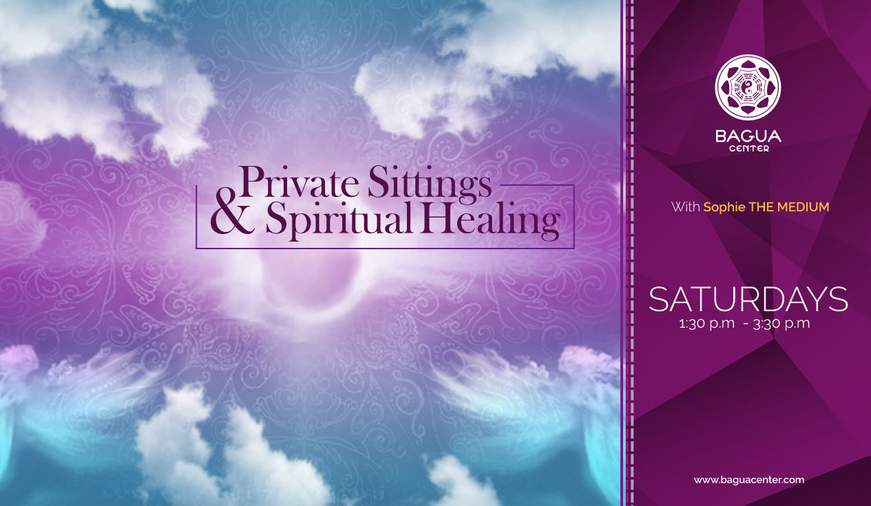 PRIVATE SITINGS & SPIRITUAL HEALING with Sophie THE MEDIUM |