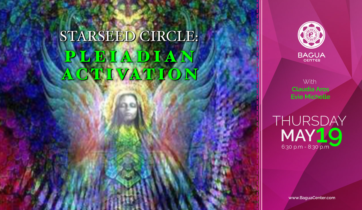 STARSEED CIRCLE: PLEIADIAN ACTIVATION with Claudia Aros & Evie